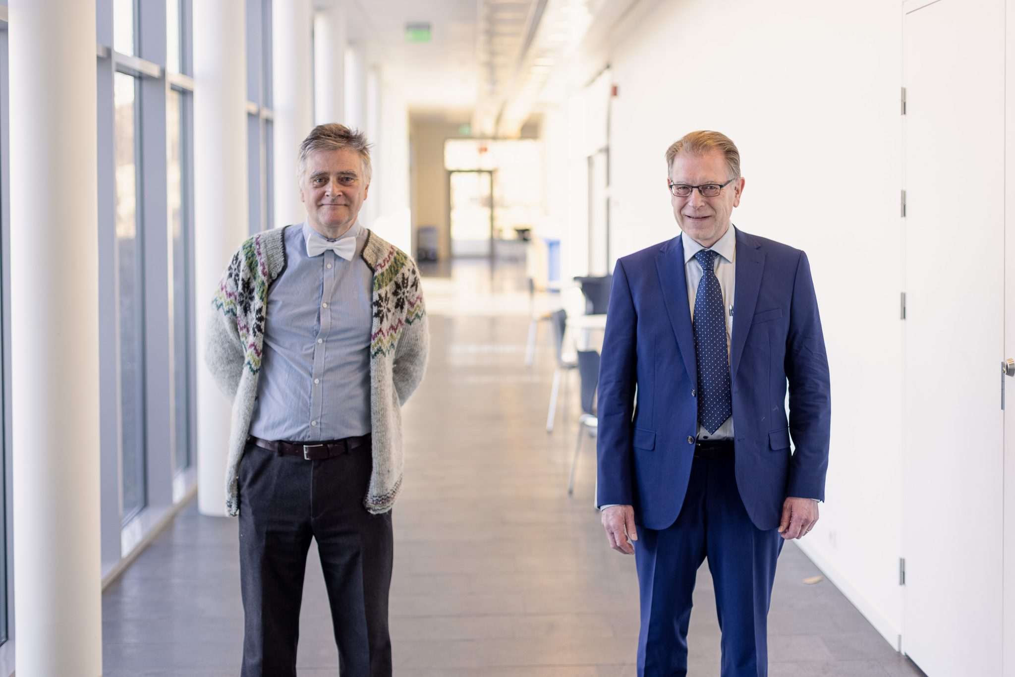 Þorsteinn Gunnarsson og Níels Einarsson fá viðurkenningu