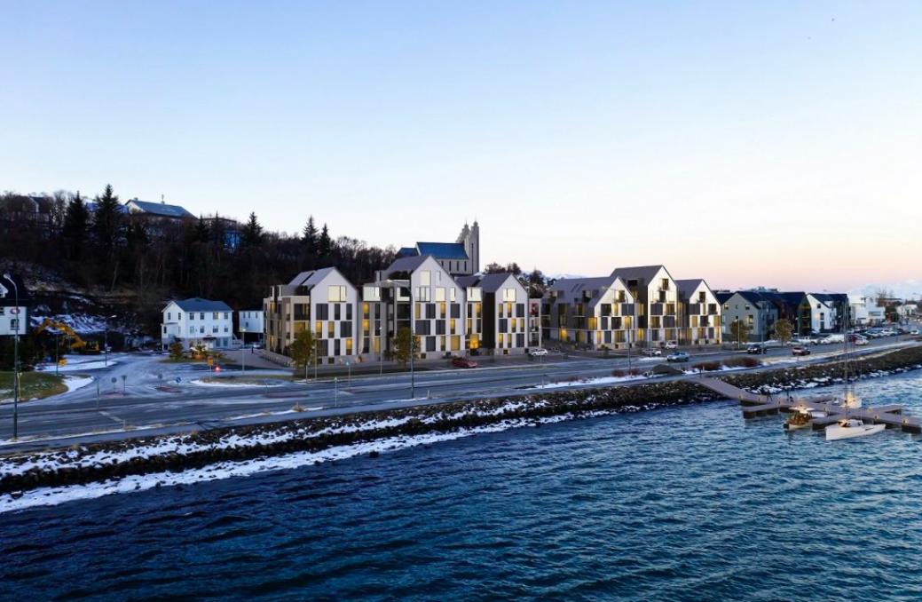 60 til 70 nýjar íbúðir á Drottningarbrautarreit