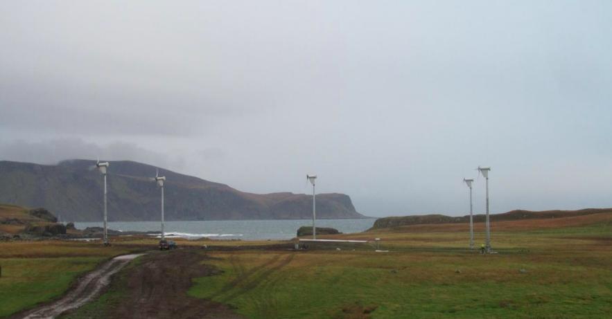Samþykkja tilraunarverkefni með vindmyllur í Grímsey