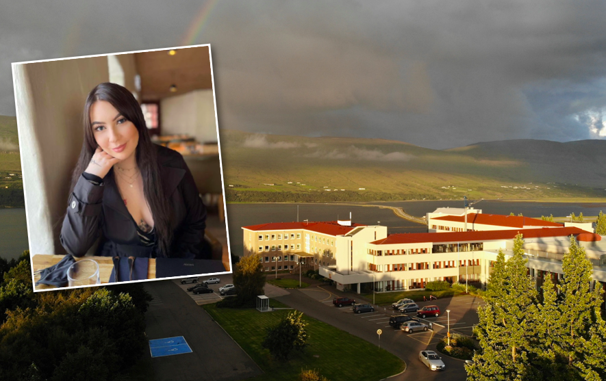 Sóldís segist hafa orðið fyrir fordómum á Sjúkrahúsinu á Akureyri vegna starfs síns
