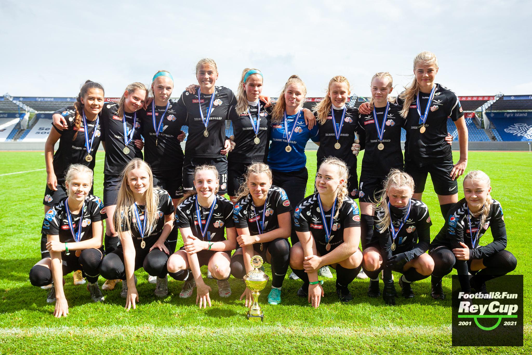 Þór/KA eru Rey Cup meistarar