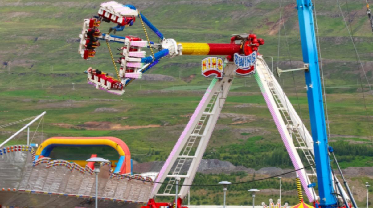 Tívólí á Akureyri um verslunarmannahelgina