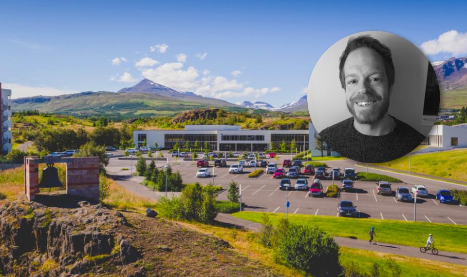 Gordon Ramsay ráðinn til Háskólans á Akureyri