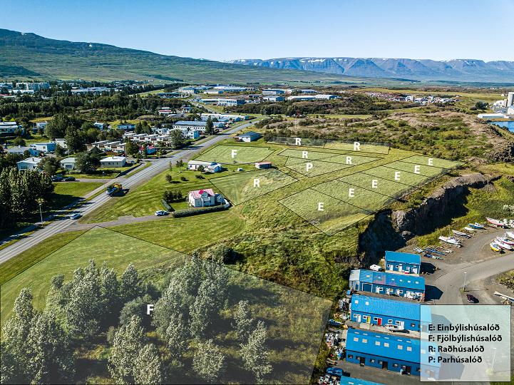 Akureyrarbær auglýsir nýjar íbúðarhúsalóðir í Holtahverfi